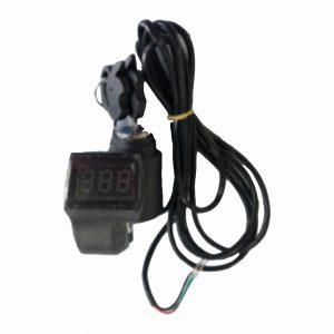 Contactslot plus voltmeter